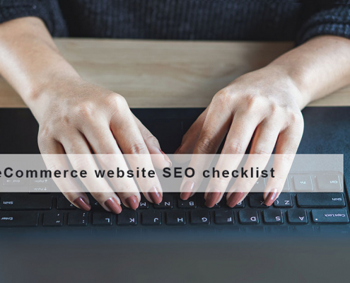 eCommerce Website SEO Checklist – The ultimate guide